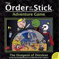 Order of the stick adventure board game