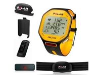 Polar RCX5 Tour de France GPS Limited Edition training HRM/watch - TDF Yellow, boxed, superb