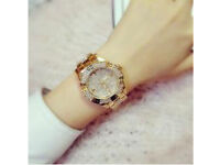 Stunning quartz watch bling
