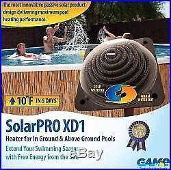 Solar heater for pools