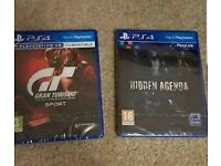 PlayStation 4 Gran Turismo plus hidden agenda new sealed