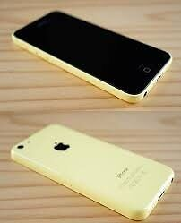 iPhone 5C 16 GB yellow locked to bell