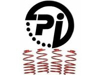 pi lowering springs 15-184 bmw e46 330d 1998- 40f 30r