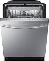 Lave Vaisselle Stainless Samsung DW80H9950US