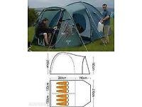 Vango 600DLX 6 berth tent