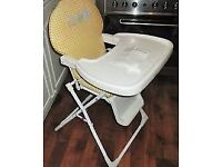 Beanstalk Baby high chair hardly used