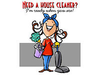 Professional, Honest & Reliable House/Domestic Cleaning Service!