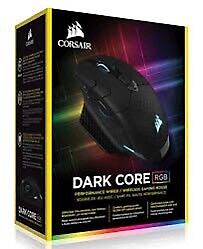 Corsair Dark Core RGB Wireless/Wired gaming mouse.
