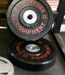 Olympic Bumper Weight Plates