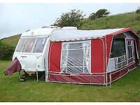 Isabella Ambassador Crown awning with IXL poles 875cm