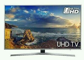 """Samsung 60"""" LED 4K UHD HDR Neno Crystal colours smart wifi LED tv built in HD freeview USB"""