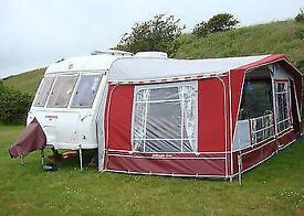 Isabella Ambassador I000cm with lightweight fibre poles in excellent condition
