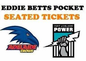 1-4 Adelaide Crows v Port Power SHOWDOWN Tickets North Adelaide Adelaide City Preview