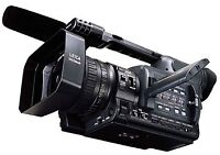Panasonic HVX-200a professional camcorder