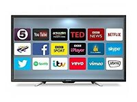 GOODMANS 50-inch Smart ANDROID LED TV,built in Wifi,Freeview HD, FULLY WORKING
