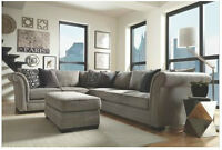 New: Beth 2-Piece Sectional by Fairmont Designs