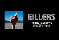 Floor Tickets to THE KILLERS - Air Canada Centre - January 5/18