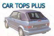 VW Cabriolet Top