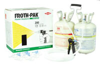Froth Pak Spray Foam Kit - 200 Board Feet