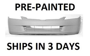 NEW PAINTED TO MATCH - Front Bumper for 03-05 Honda Accord Sedan