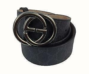 f55a86d2900 Men s Black Gucci Belt