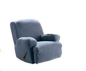 Elegant Sure Fit Stretch Leather Recliner Slipcover