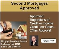 Private & Second Mortgage - No Credit / Income Required