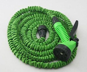 Expandable hose, still packaged