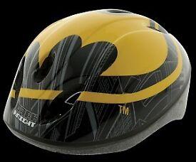 Batman childs bike helmet