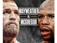 Press conference tickets for McGregor vs Mayweather Londons Wembley Stadium