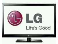 "LG 42"" lcd tv built in freeview fullhd 1080p good condition fully"