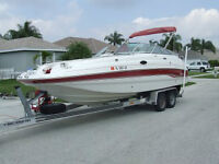 CHAPARRAL SUNESTA DECK BOAT IN GREAT CONDITION FOR SALE