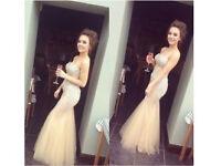 Embellished prom dress