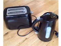 """"""" like new"""" matching kettle and toaster £8"""