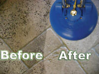 Tile and Grout Professionally Cleaned and Sealed