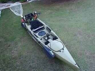 Hobie Kayak & Watersnake Motor