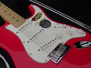 One 2002 New American Fender Stratocaster