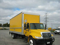 INTERNATIONAL AND FREIGHTLINER STRAIGHT TRUCKS FOR SALE
