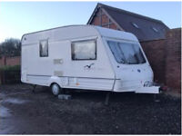Bailey Range 450/2 berth caravan