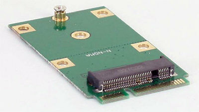 M.2 NGFF (30/42mm) SSD zu mSATA (52pin) Adapter