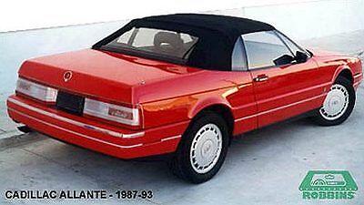 """1987-93 CADILLAC ALLANTE BLACK TOP """"ROBBINS"""""""