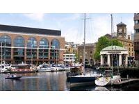 LARGE 1BED ** 1BATH ** BALCONY ** FURNISHED ** ST KATHERINE DOCK **