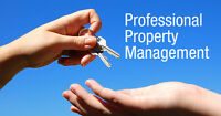 PROFESSIONAL PROPERTY MANAGEMENT SERVICES - CALL TODAY!