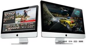 * IMAC  APPLE  Réparations  ORDIMAX  PROFESSIONNEL 514-522 8886  Service  a  Domicilie  514-522 8886