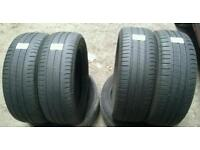 195 55 16 x4 Michelin Energy Saver (A Tyres) Free Fitting