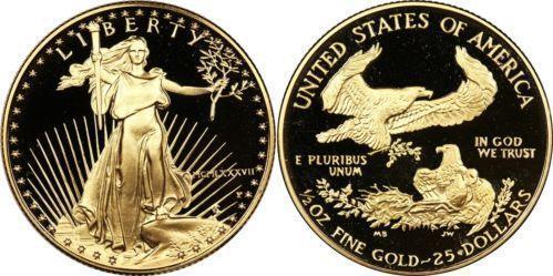 25 Dollar Gold American Eagle