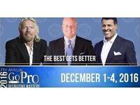 GO PRO Eric Worre Ticket 1-4th Dec