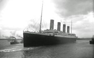 White-Star-Line-RMS-Titanic-Poster-Photo-Art-Print-New