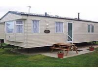 Luxury Static Caravan sited at Weymouth Bay Holiday Park Dorset . Site fees included