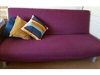 Ikea Beddinge Metal Frame Sofa Bed Comfortable Good Condition Delivery Possible